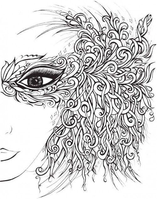 coloriage anti stress dadulte dans 8 dessins pour sessayer au coloriage - Dessins Anti Stress