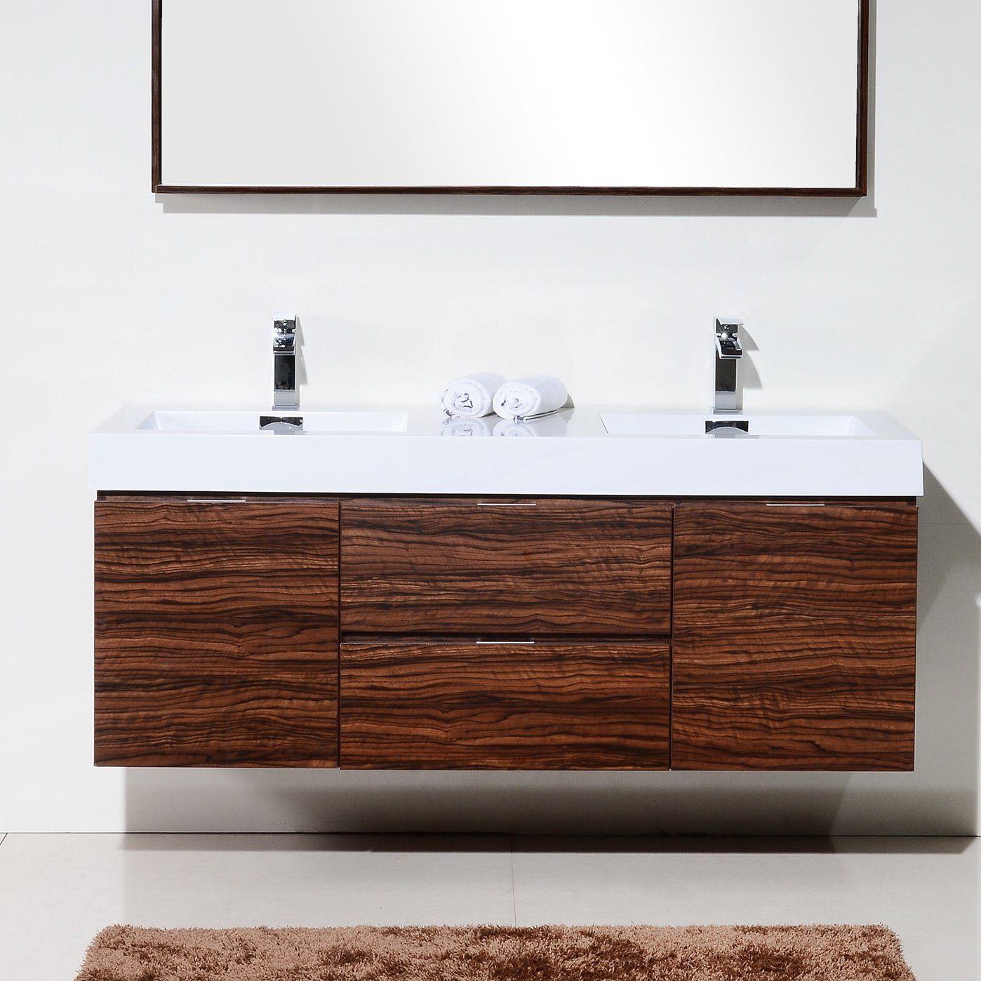 The Tenafly is one of the most elegant modern bathroom vanities ...