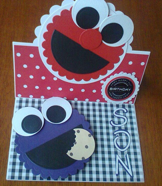 Cookie monster birthday card using circle dies disney cookie monster birthday card using circle dies bookmarktalkfo Choice Image