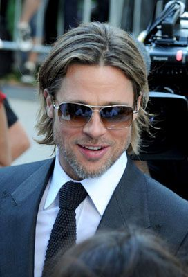 Brad Pitt Brad Pitt Long Hair Styles Men Mens Hairstyles