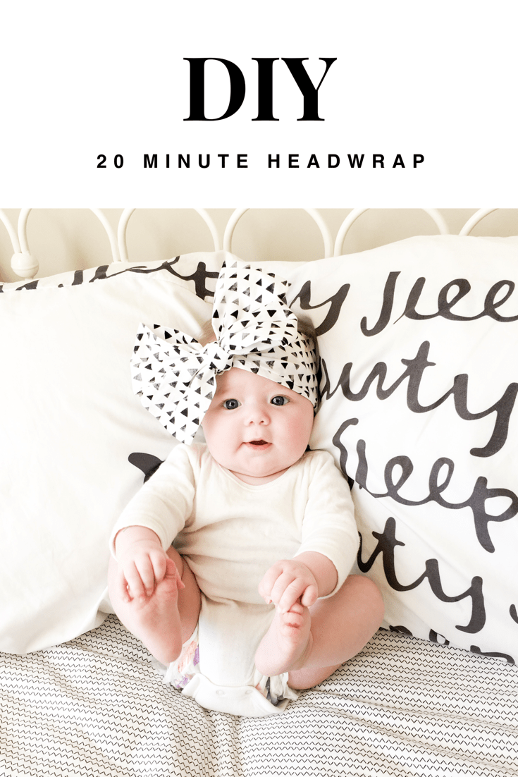Lord knows I love a big bow! This headwrap is so cute andcould not be easier to make. All you needare a few simple things and you can whip one up in no time! Materials – Cotton fabric – Scissors – Sewing Machine – Iron   I went to my local fabric...Read More » » #diybabyheadbands