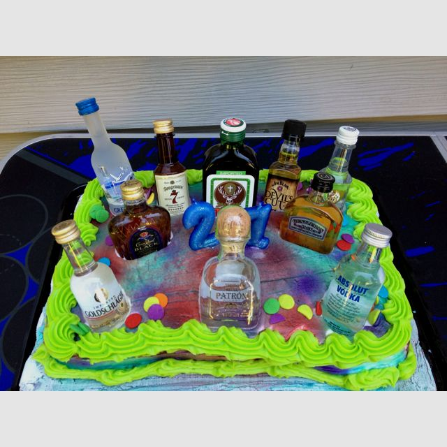 21st Birthday Cake Another Fabulous Idea