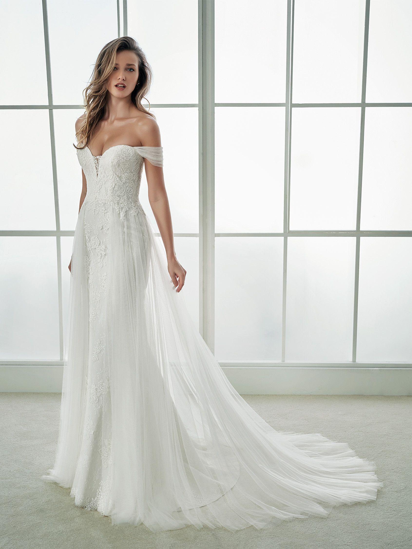 a1ae9ee8b59c Splendido abito da sposa a sirena