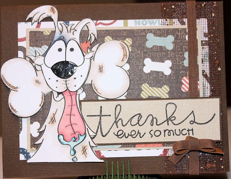 A Thousand Words Thanks Pup {Card} Susan\u0027s Cards and ATCs