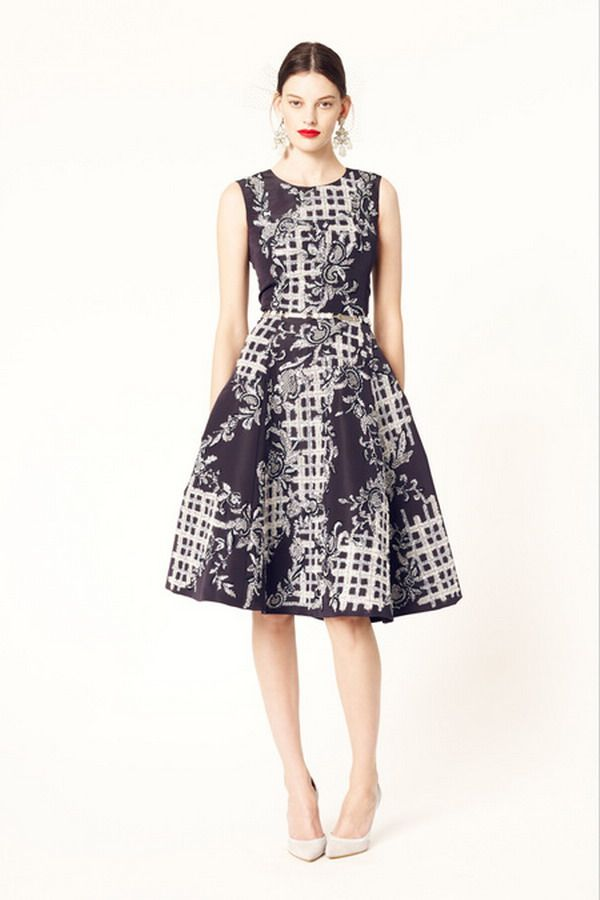 Can I wear this to work, please? Oscar de la Renta 2014 | PATRONES ...