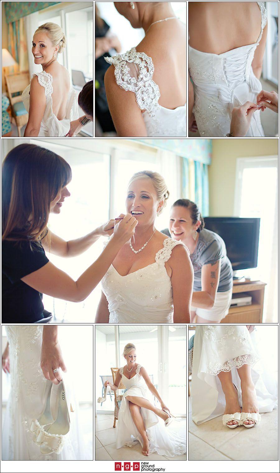 Bride Getting Dressed 03
