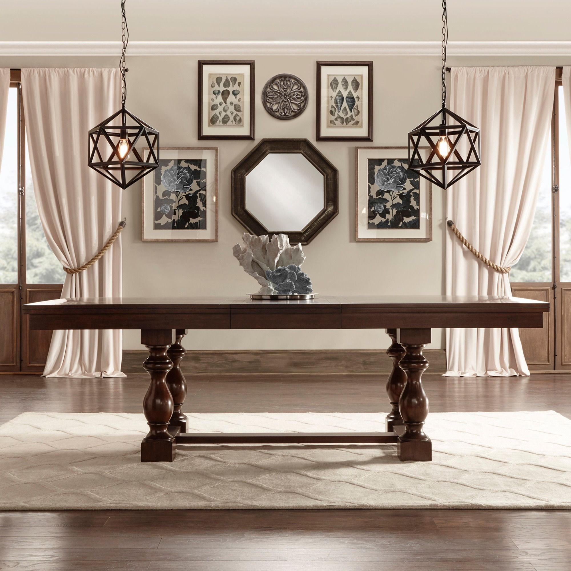 Flatiron Baluster Extending Dining Table by iNSPIRE Q Classic by iNSPIRE Q
