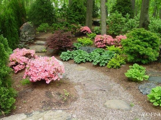 Flower Pathways - Winsome Green Asian Inspire Garden with Beautiful ...
