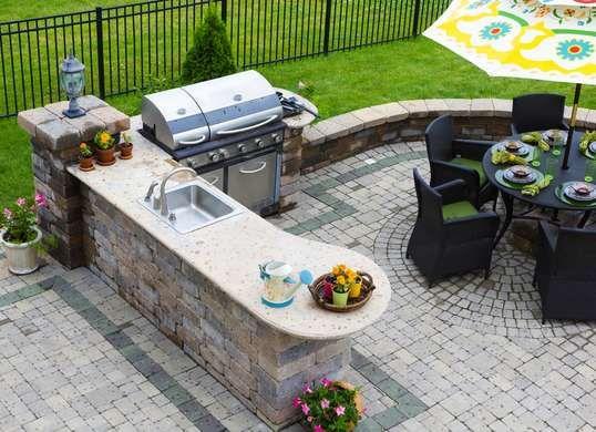 The 10 Biggest Outdoor Living Trends Set To Dominate 2016 Outdoor Kitchen Countertops Backyard Kitchen Outdoor Kitchen