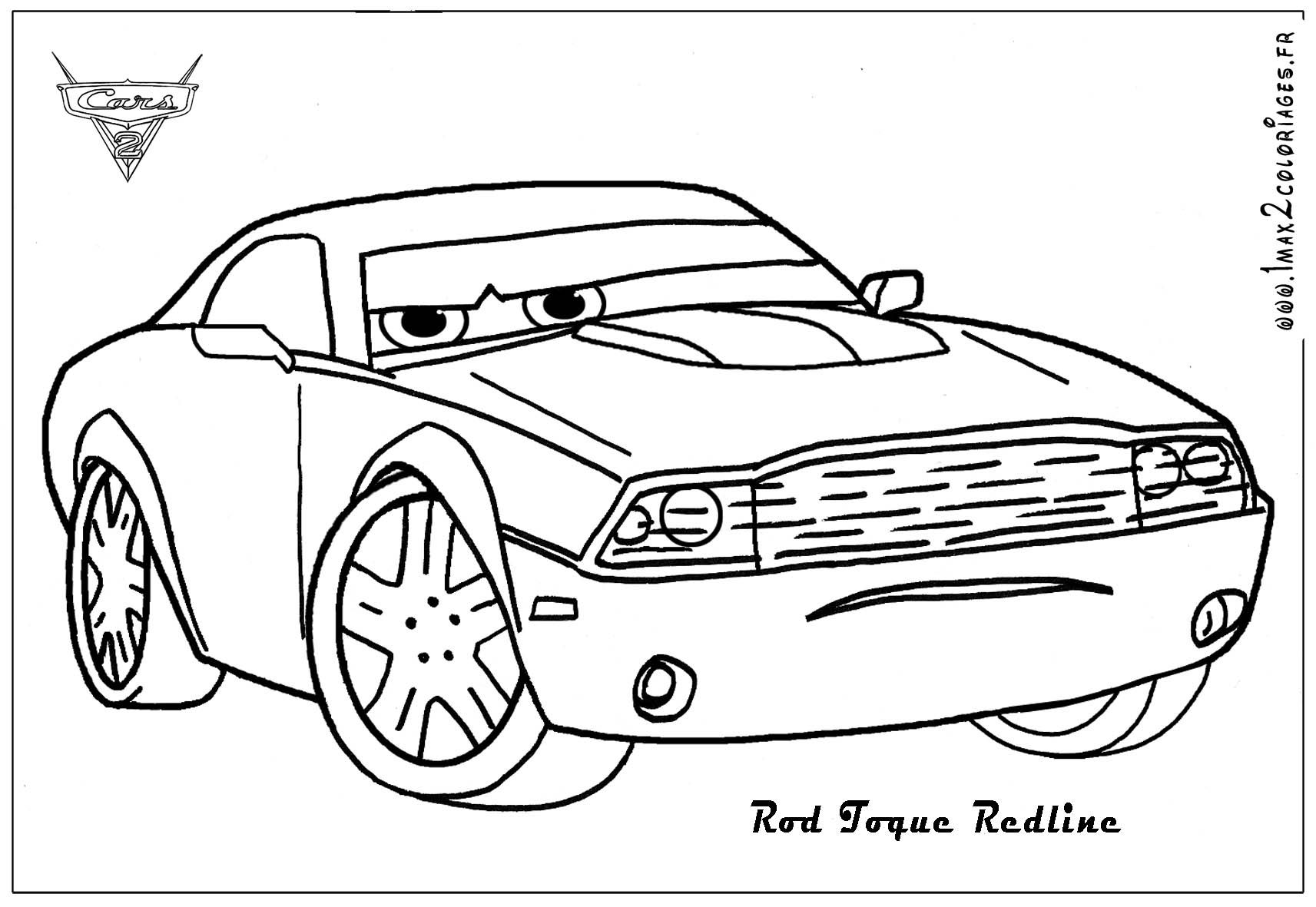 Ausmalbilder Zum Ausdrucken Cars : Cars 2 Printable Coloring Pages Pictures Coloring Page Cars 2