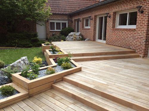 Création jardin, Poseur Terrasse en bois, amenagement exterieur ...