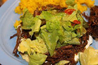 Nay's Yummy Goodness: Crockpot Flank Steak Tacos #flanksteaktacos Nay's Yummy Goodness: Crockpot Flank Steak Tacos #recipesforflanksteak