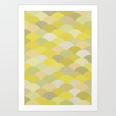 Circles Abstract 5 Art Print by Kimsey Price - $15.60
