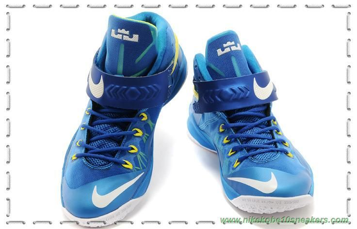 653642-417 Nike Zoom Soldier 8 Royal Blue/Fluorescent Green Factory Outlet