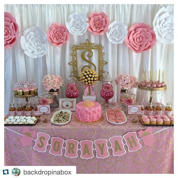 TBT to that time one of my client set up this breath taking dessert ...