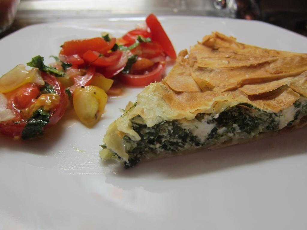 Christina´s Spinat-Ricotta-Pie