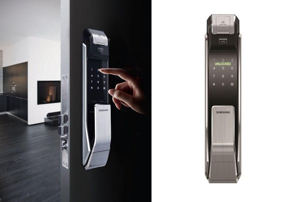 digital office door handle locks. Samsung Fingerprint Door Lock Digital Office Handle Locks L