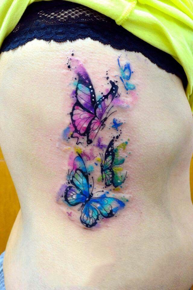 Pin By Submissivenes On Tattoo Ribs Zebra Tattoos Watercolor Butterfly Tattoo Butterfly Tattoos Images