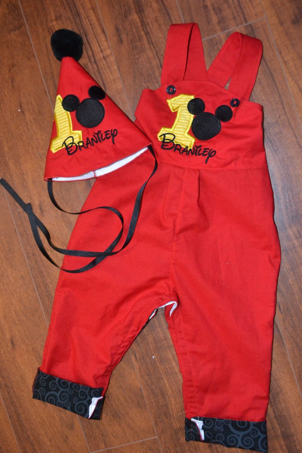 94f0a110d Mickey Mouse Birthday - Mickey Mouse Outfit by BoogerbearPunkinpooh ...