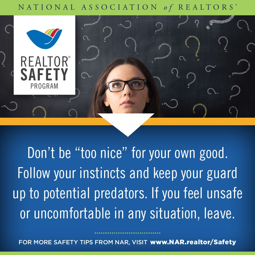 This WeekS Realtorsafety Tip HttpsWwwNarRealtorTopics