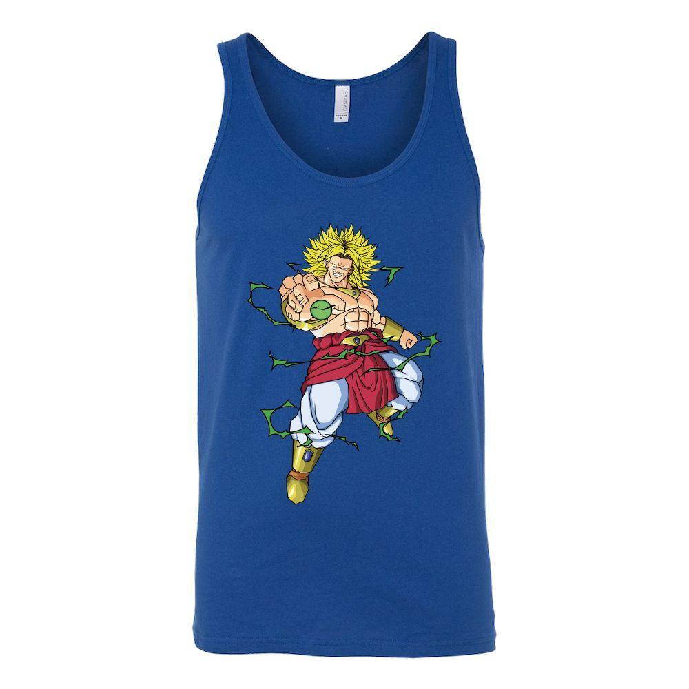 Super Saiyan - Super Saiyan Broly - Unisex Tank Top T Shirt - TL01263TT