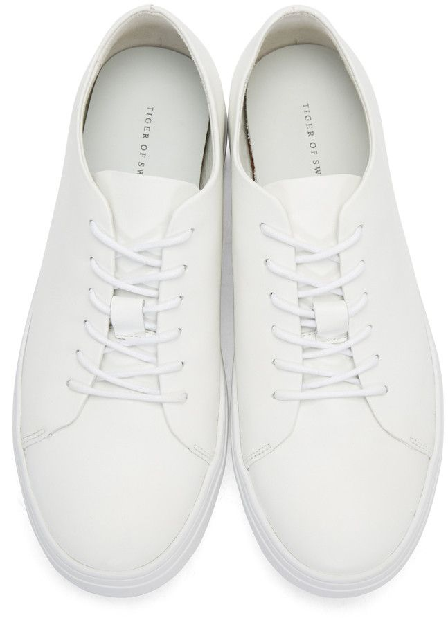 White Yngve Sneakers | Tiger of sweden