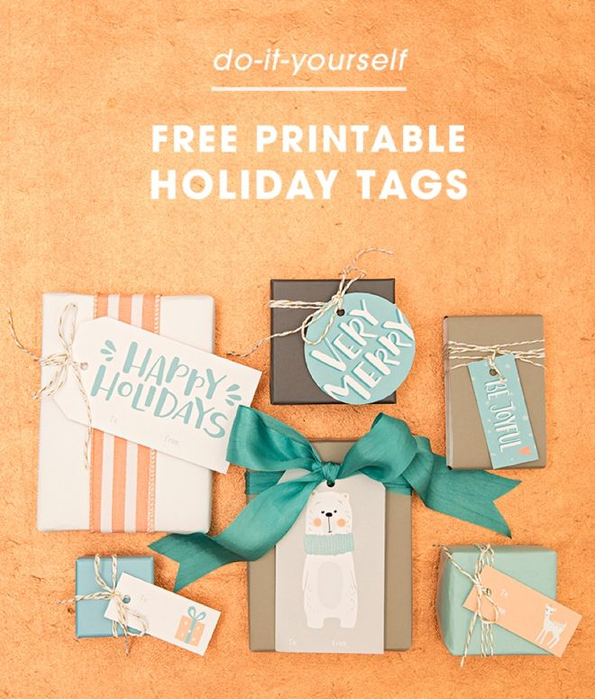 Download print these darling holiday gift tags for free holiday diy christmas solutioingenieria Gallery