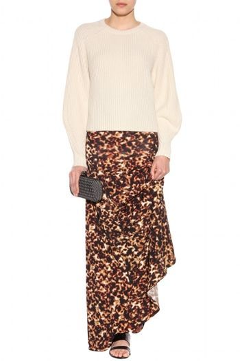 Roberto Cavalli Printed Skirt