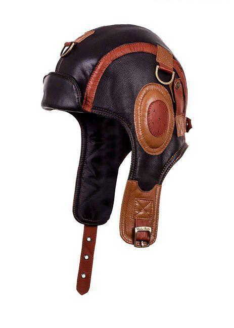 f88e8ef2e508fc Leather Hat aviator cap for men women ushanka winter cap pilot black ...