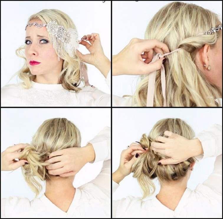 Haarband Frisuren Selber Machen