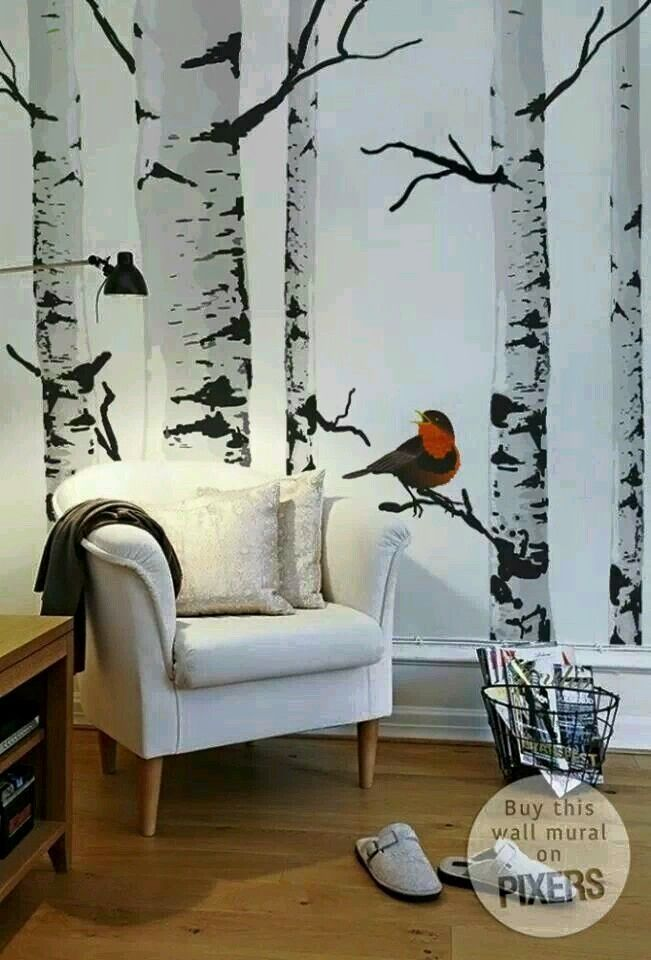 Best Pin By Ann On Wallpaper Tree Wall Murals Wall Murals 400 x 300