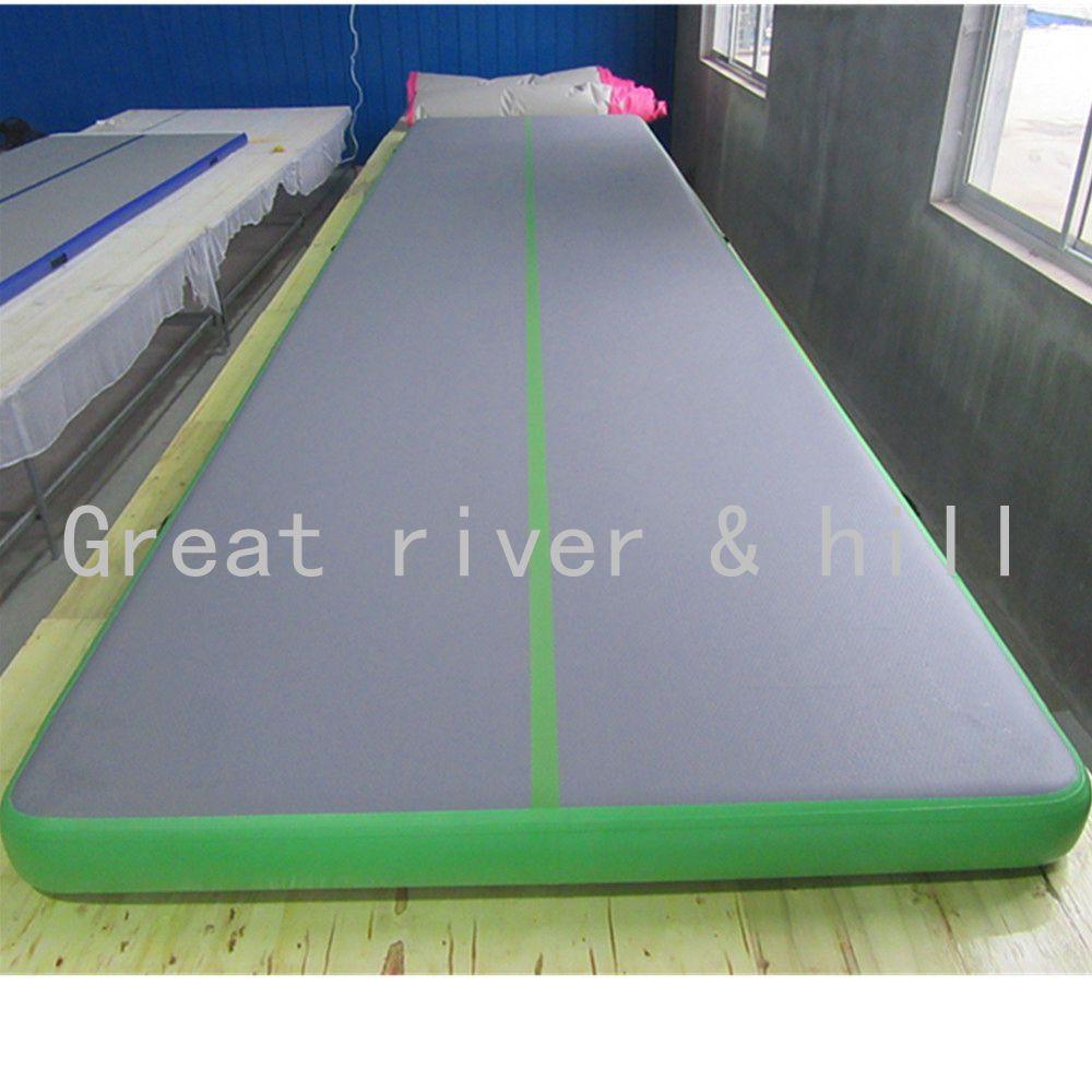Free Shipping 8m X1 5m X0 1m Gymnastic Inflatable Air Tumbling