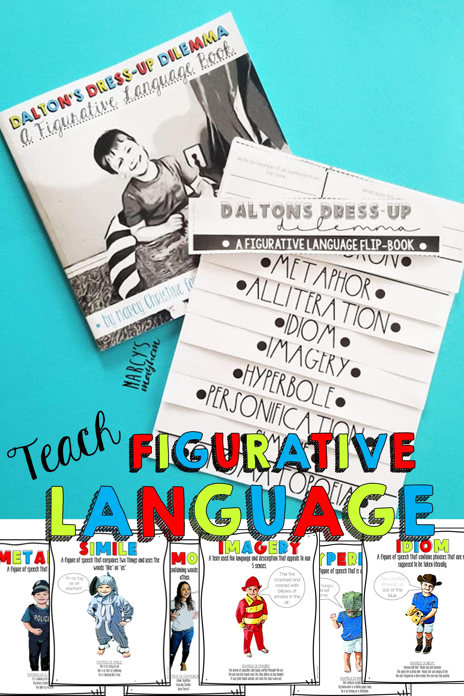 Teaching Figurative Language Onomatopoeia Idioms