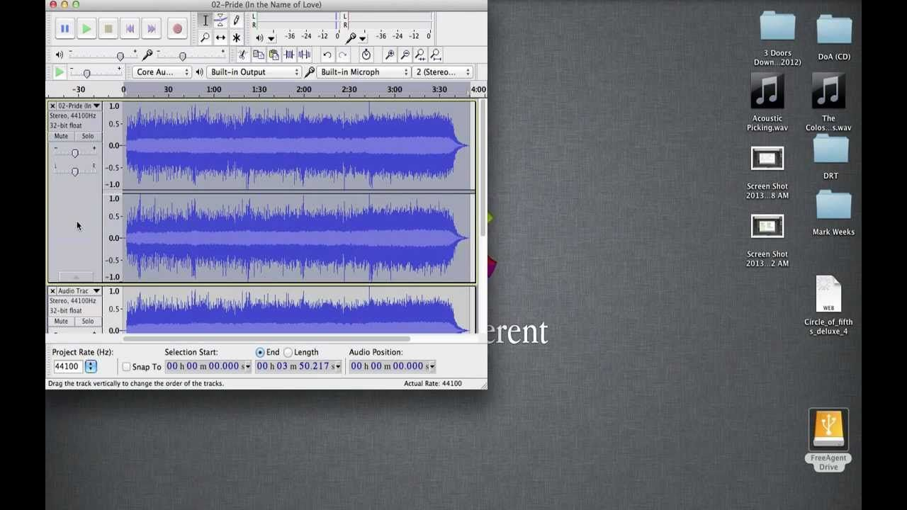 Vocal Isolation in Audacity Technology integration