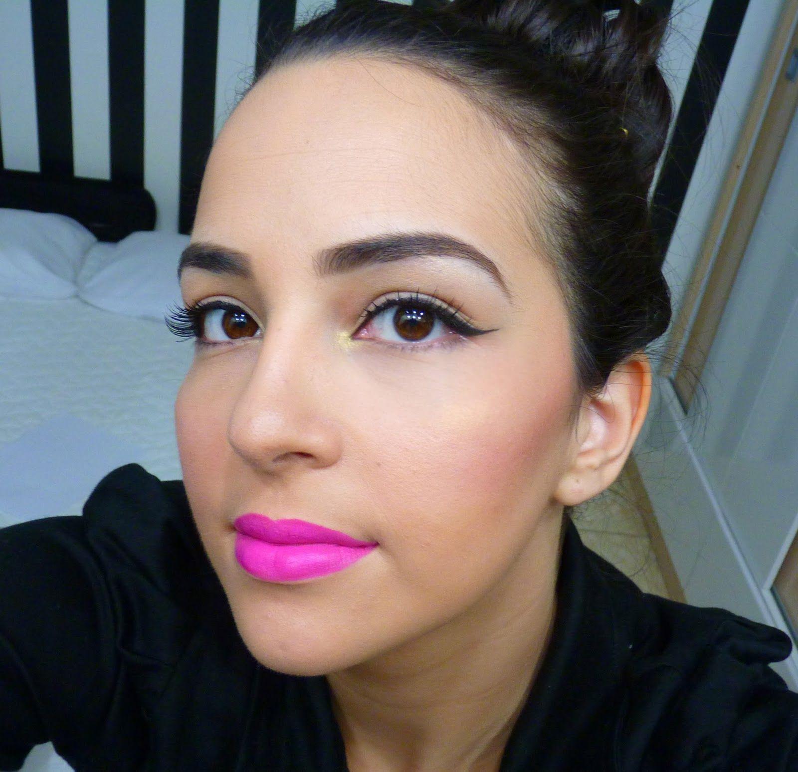 Nyx matte lipstick shocking pink vs sweet pink