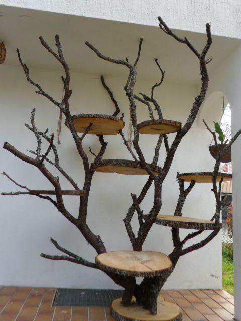 kratzbaum selbstgemacht nistk sten pinterest kratzbaum selbstgemachtes und katzen. Black Bedroom Furniture Sets. Home Design Ideas