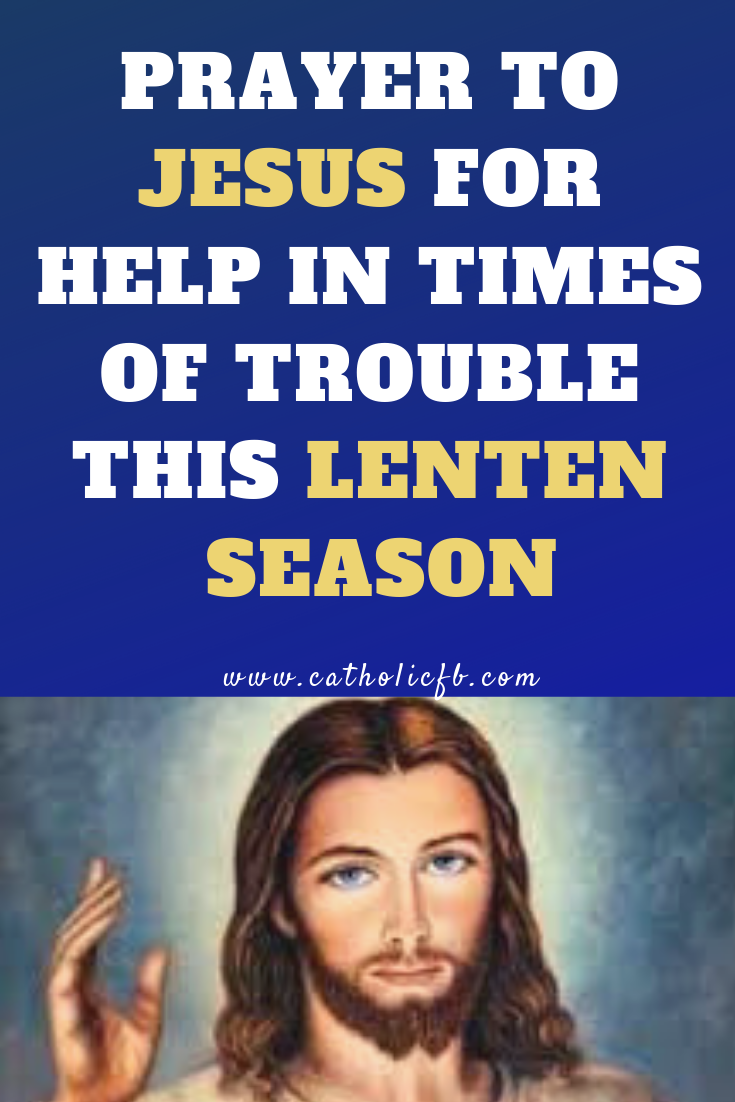 Novena prayers during lent