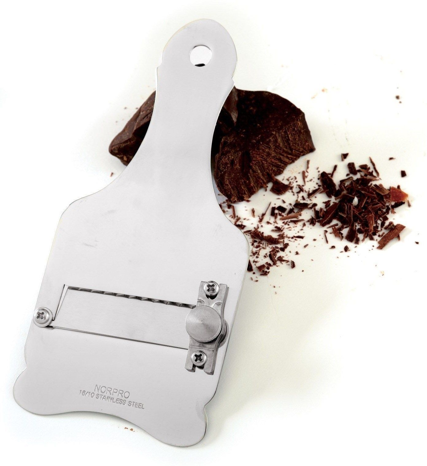 Norpro 3705 Chocolate Truffle Shaver in Stainless Steel