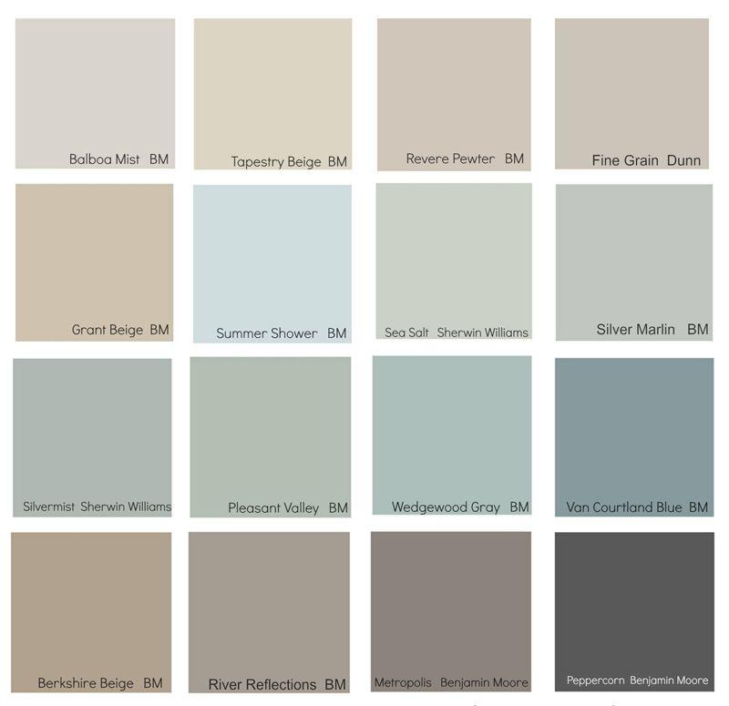 Most Popular Interior Neutral Paint Colors: Popular Paint Colors