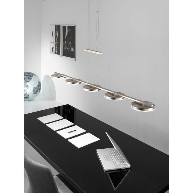 Kolarz LED Pendelleuchte Rondo nickel matt wunderschöne Leuchten von