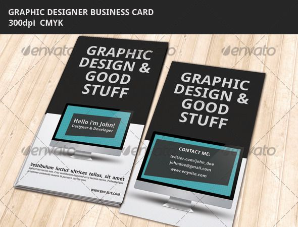 Graphic designer business card corporate business cards download buy graphic designer business card by nikitabelousov on graphicriver description psd template business cards with the big text header title colourmoves