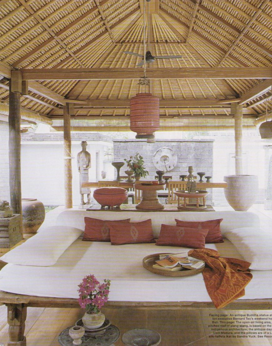 Possible Roof Palapa Idea Balinese Bungalow