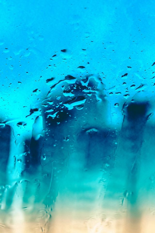 Glass Surface Drops Texture #iPhone #4s #wallpaper