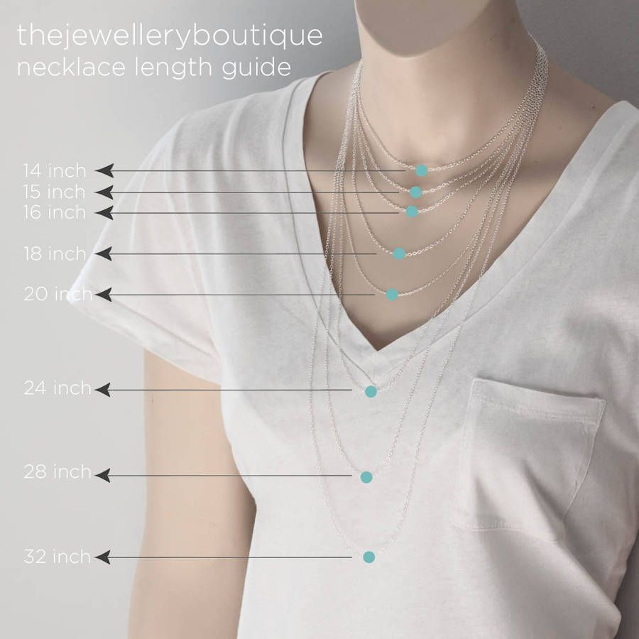 Image result for necklace layering necklace lengths