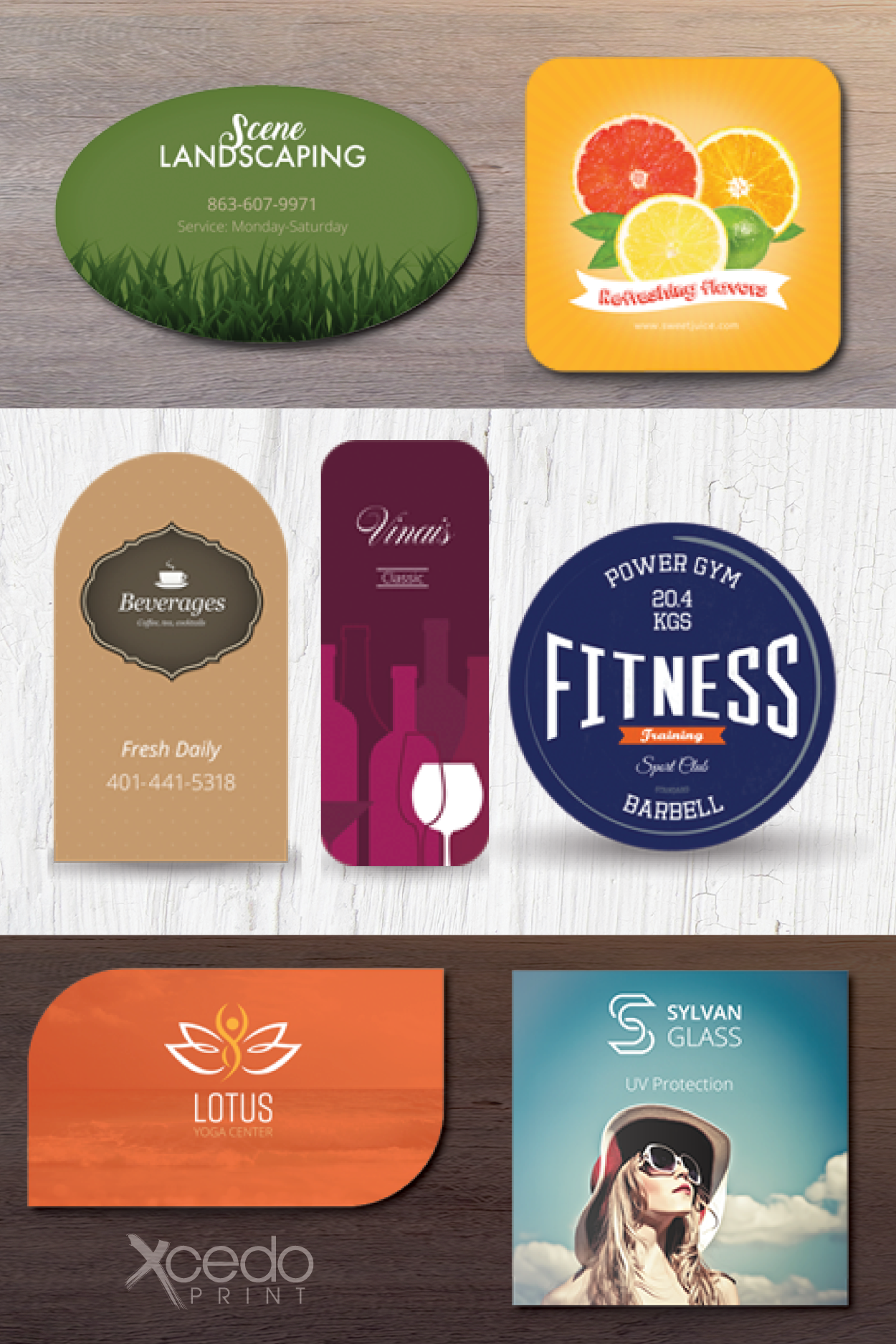 Business Cards Of All Shapes And Sizes At Xcedo Print Business Cards Cards Business