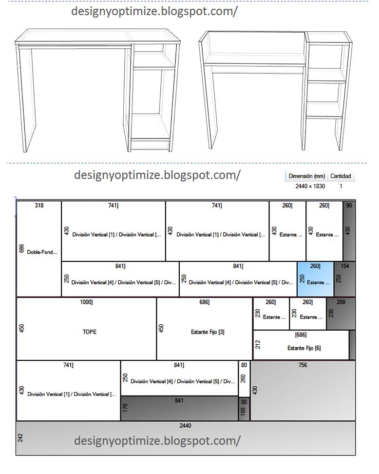Dise o de muebles madera mesa mueble moderno para for Medidas estandar de escritorios de oficina