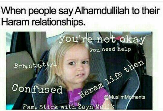 Dating on Haram islamissa