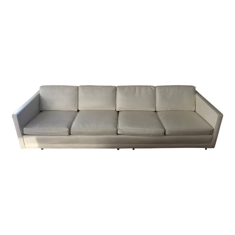 Fabulous Mid Century Modern White Couch In 2019 Products White Spiritservingveterans Wood Chair Design Ideas Spiritservingveteransorg