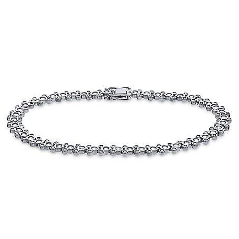 Mickey Mouse Cubic Zirconia Bracelet Disney Designer Jewelry Collection Jewelry Design Jewelry Expensive Jewelry