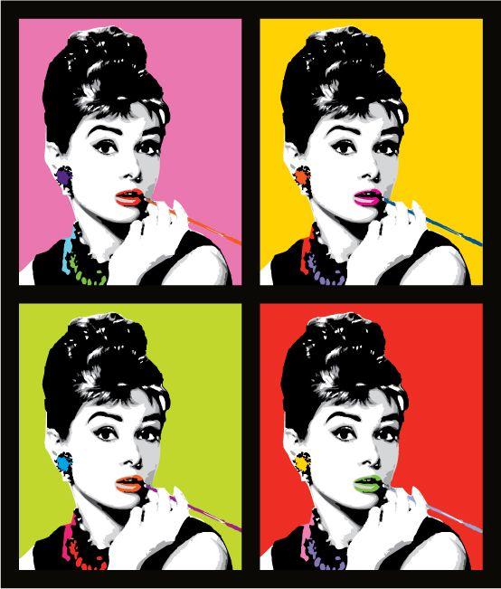 Pin by Jay Dubon on Pop art | Pinterest | Audrey hepburn, Warhol and ...